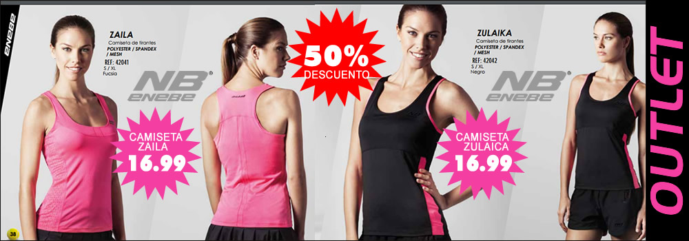 Outlet Enebe Mujer