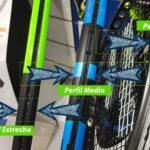 Características de una raqueta