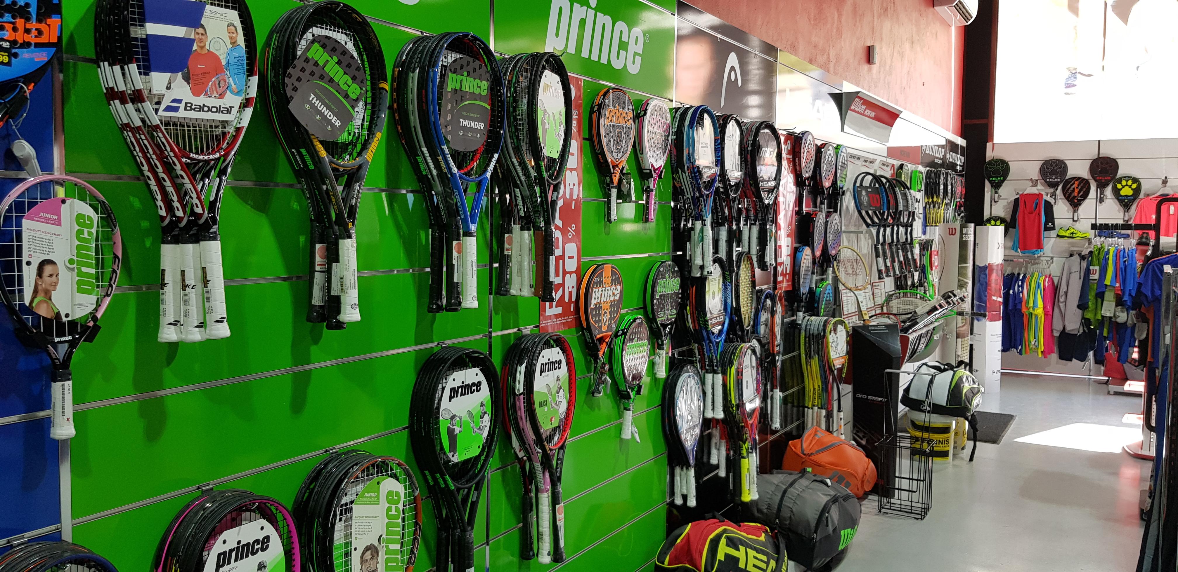 Test de raquetas